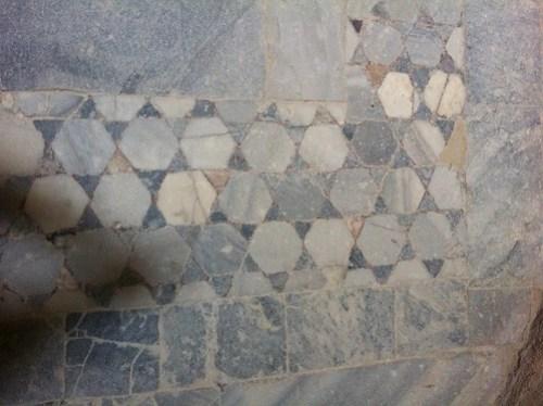 Six-Sided Stars in Mosaic on Floor of Qaitbey Citadel, Alexandria, Virginia
