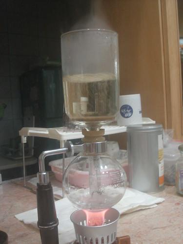 syphon熱水往上座衝