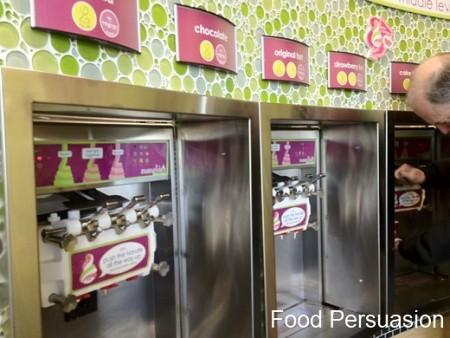 Yogurt Bar Selection