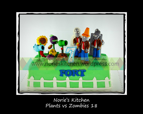 Norie's Kitchen - Plants vs Zombies Cake 18 by Norie's Kitchen