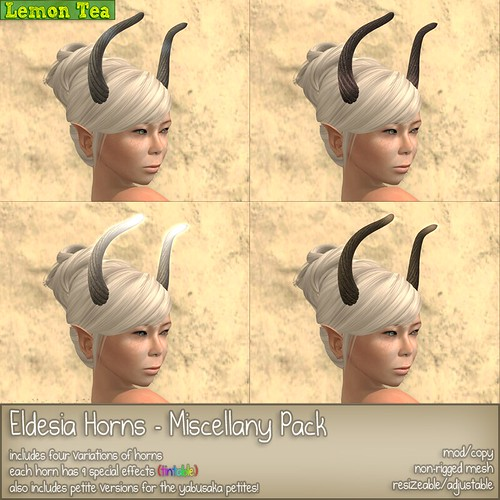 Eldesia Horns - Miscellany Pack