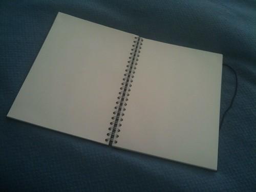 Anständig Notebook Opened