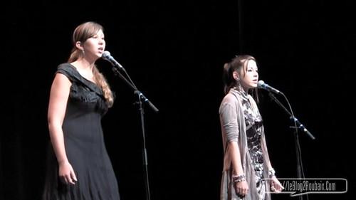 Alison Luas et Adele Gerard