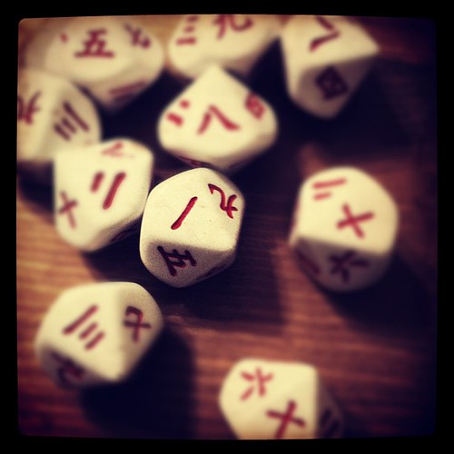 232: Liz left her dice.