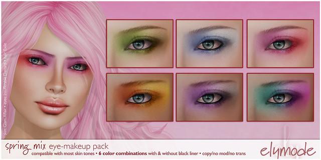 spring mix makeup