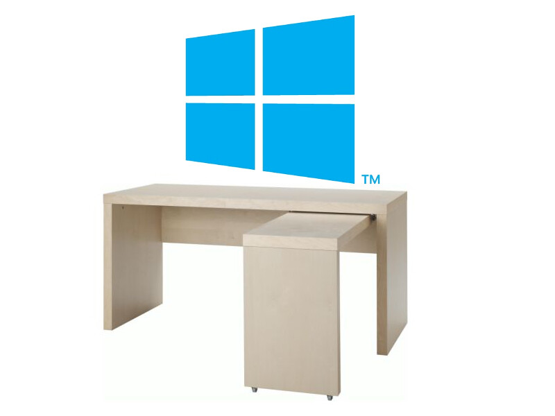Windows 8 on Desktop