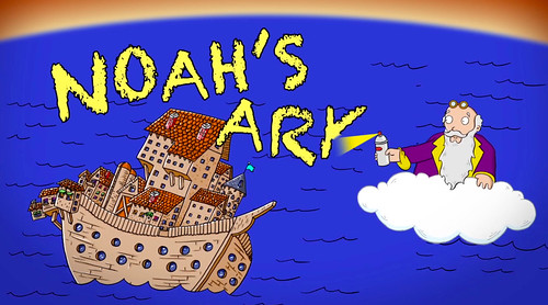 Noah's Ark by happyjoelmoss