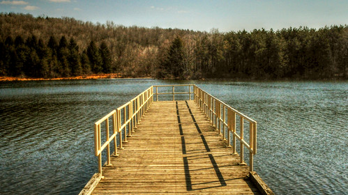 Jetty at the park by dogfrog