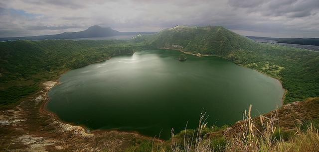 Taal Lake Volcano