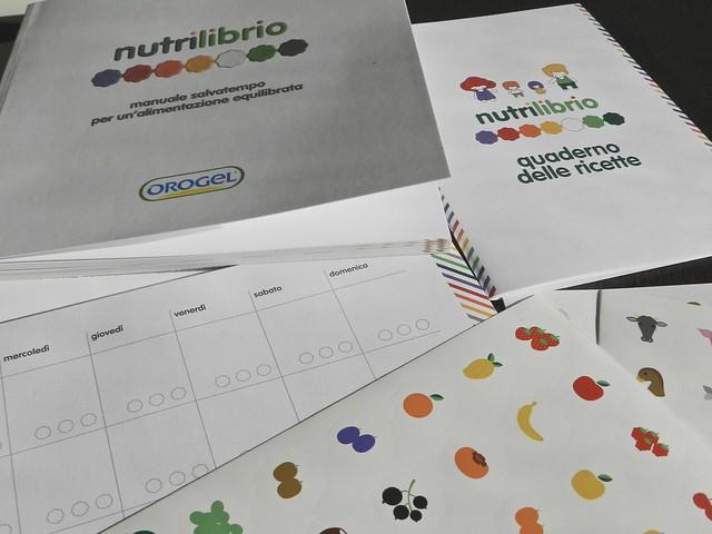 Bimbi a tavola - kit Nutrilibrio di Orogel