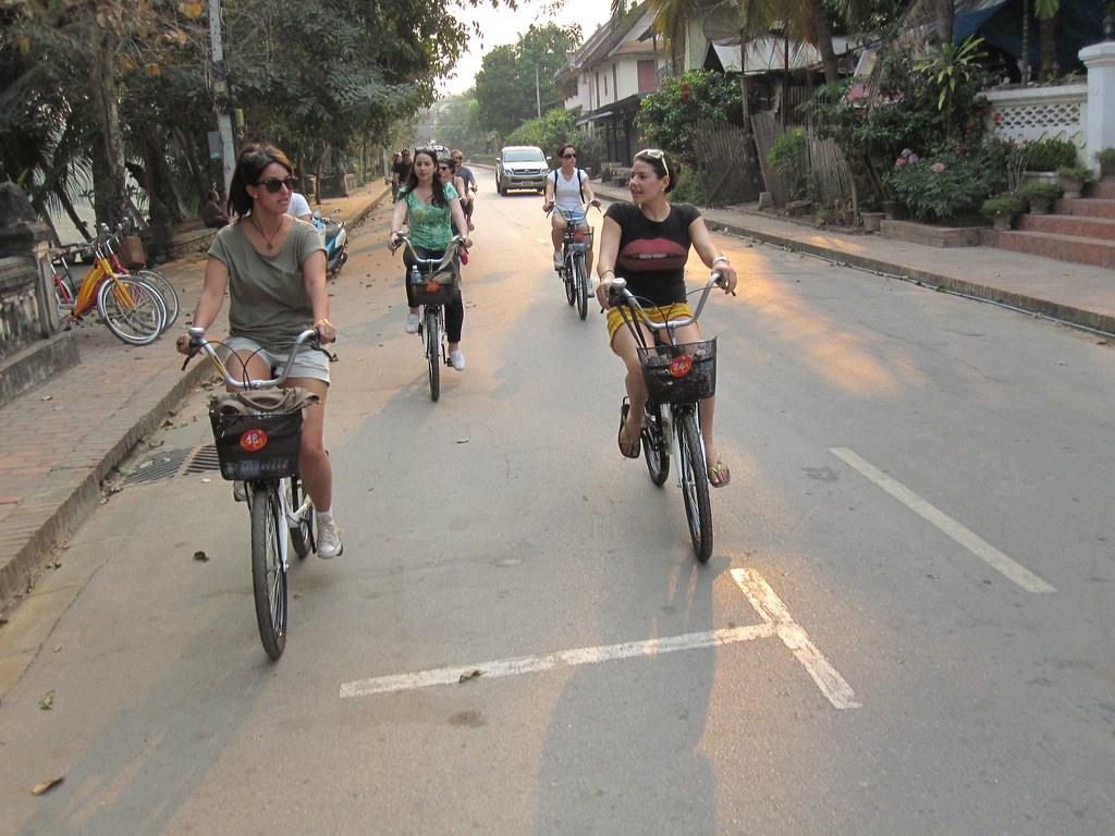Bike City Tour - Luang Prabeng, Laos