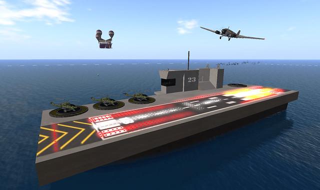 SLS Konahawk sails the Blake Sea - 2