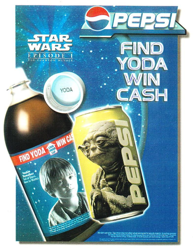 Gold Yoda cans