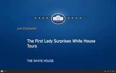 First Lady and Bo surprise tour visitors - pix 14