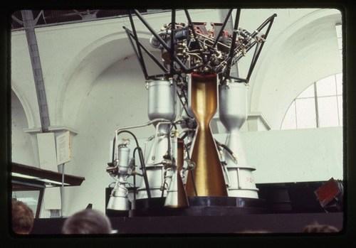 Vostok Rocket Engine RD-107, Moscow, 1969