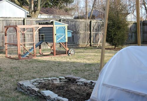 20120229. Sneak peek: the chicken coop!