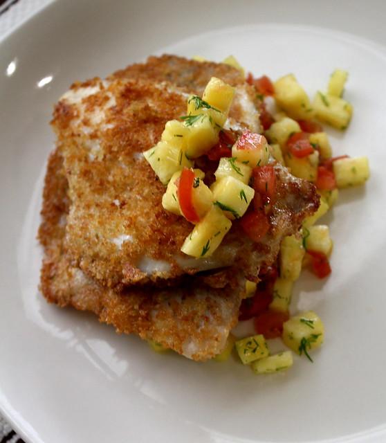 tilapia with salsa
