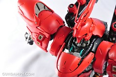 Formania Sazabi Bust Display Figure Unboxing Review Photos (123)