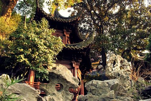 Hillside pagoda