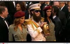 Oscar 2012 - Sacha Baron Cohen - The Dictator - pix 19