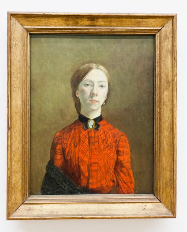 Tate Britain -portrait Gwen John. Alh1 - Sharing