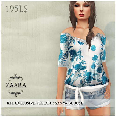 Sanya blouse : Exclusively for Fashion for Life