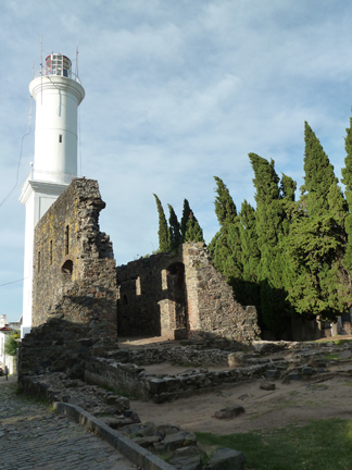 Lighthouse and ruins