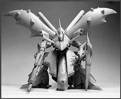 Resin Kit 1100 Nightingale  Neograde Refined Version Built (3)