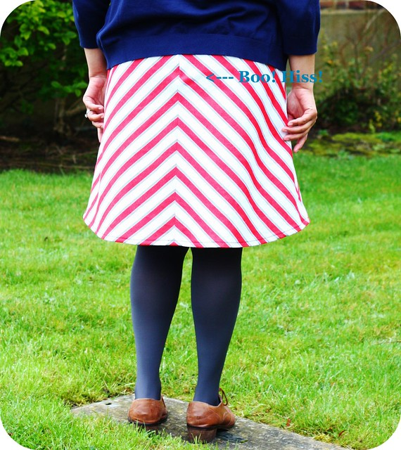 Bias Cut Colette Ginger Skirt