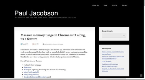 Paul Jacobson's Hub - Firefox 11 stable