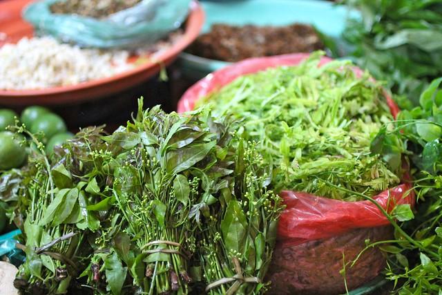 Siem Reap local market.