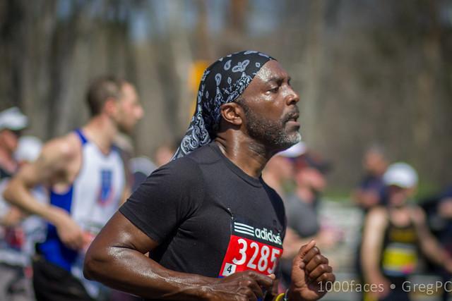 Faces - Running the Boston Marathon
