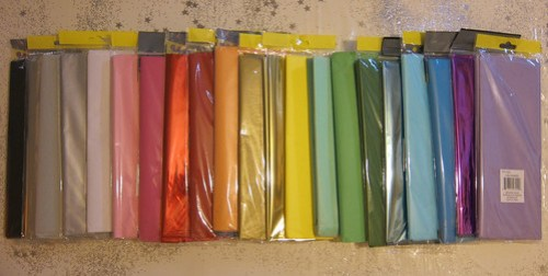 Tissue Paper Colours