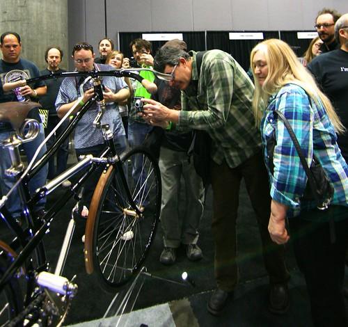Shooting the bike