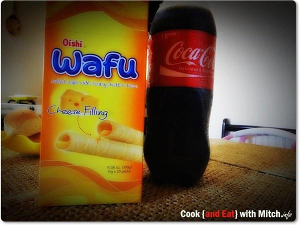 Oishi with Coke