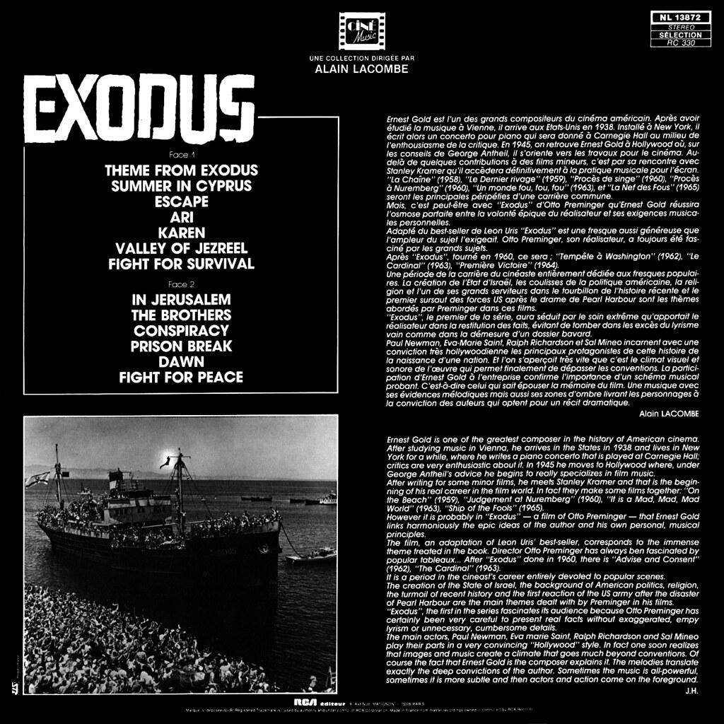 Ernest Gold - Exodus