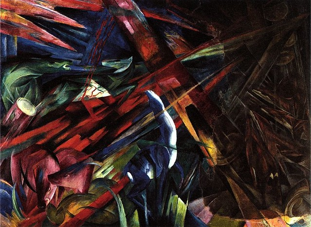 Franz Marc, The Fate of the Animals.