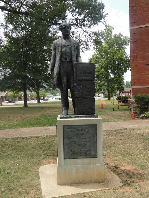 William Jennings Bryan Statue, Dayton TN
