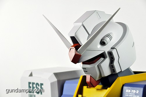 MSG RX-78-2 Bust Type Display Case (Mobile Suit Gundam) (28)