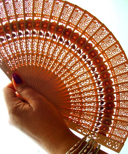 Kek Lok Si wooden fan