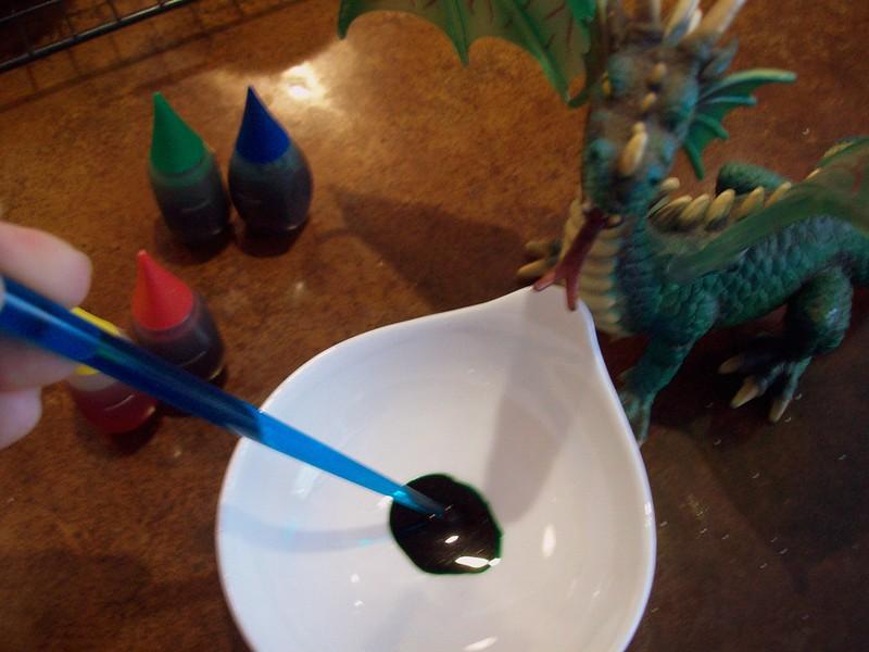 Stir to Make Dragon Green