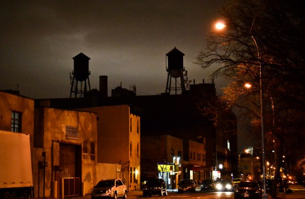 Water towers on Nostrand ave