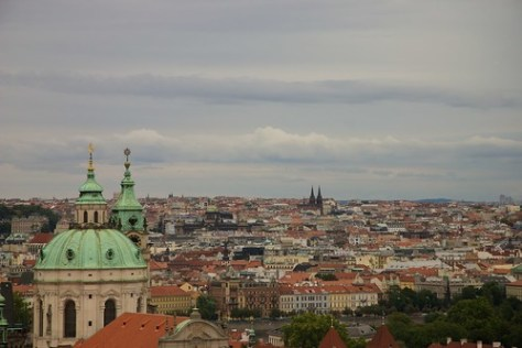 View over Prague, Czech Republic
