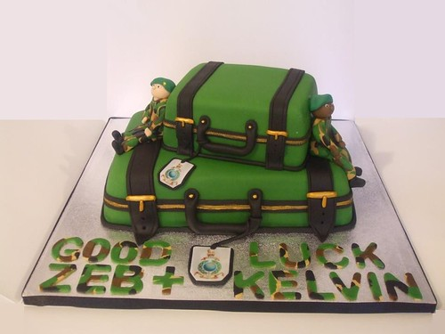 Royal marines cake. by Sweet-Sassy
