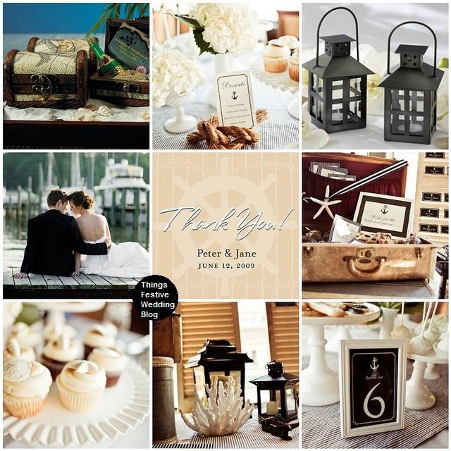 Nautical Themed Wedding in Mocha Black  Ivory  Things Festive Weddings  Events