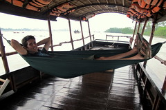 Lounging on the Mekong