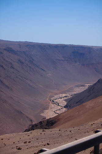 A wadi just south of Arica