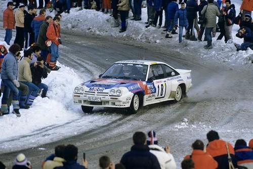 Opel Manta 400 - Montecarlo 1986