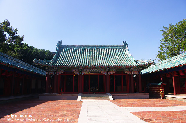 這裡不知道為什麼,有種日本神社的錯覺...