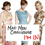 Mad Men Challenge Blogger Button